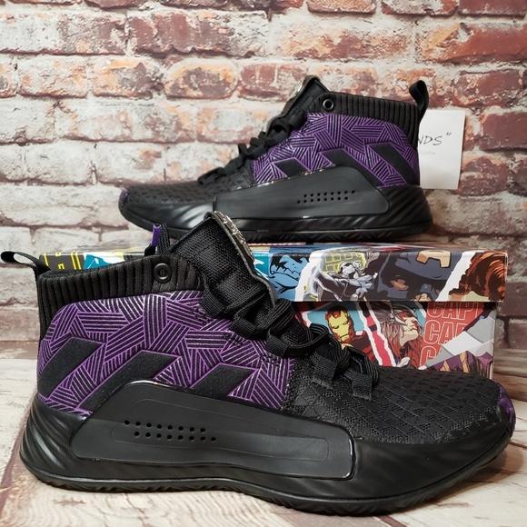 adidas Shoes | Dame 5 J Marvel Black